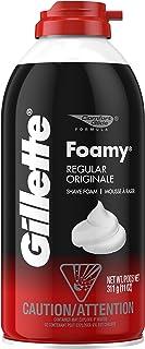 Gillette Foamy Shaving Cream, Regular - 11 Ounce