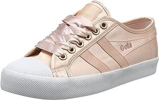 Gola Women's Coaster Satin Blush Pink/White Trainers, Pink (Blush Pink/White Kw), 3 UK 36 EU
