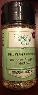 PAMPERED CHEF BELL PEPPER HERB RUB. # 9578