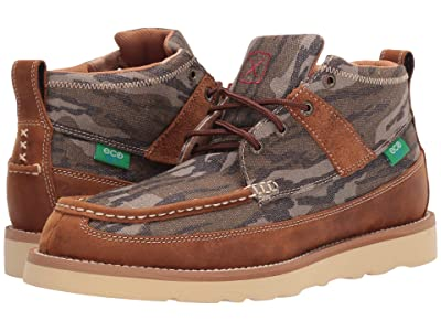 Twisted X MCA0034 (Camo/Oiled Saddle) Men