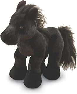 Webkinz Black Stallion Friesian Horse