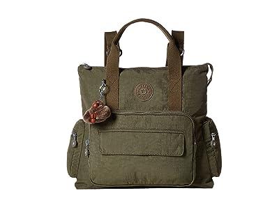 Kipling Alvy Backpack (Jaded Green) Backpack Bags