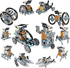 CIRO STEM Projects | 12-in-1 Solar Robot Toys, Education Science Experiment Kits for Kids Ages 8-12, 190 Pieces Building S...