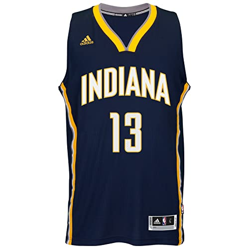 42cb2885e42 adidas Paul George Indiana Pacers NBA Swingman Jersey - Blue