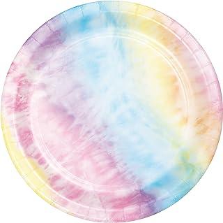 Tie Dye Party Dessert Plates, 24 ct