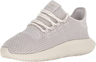 adidas Originals Boys' Tubular Shadow J, Chalk Pearl/Chalk Pearl/Chalk White, 5 M US Big Kid