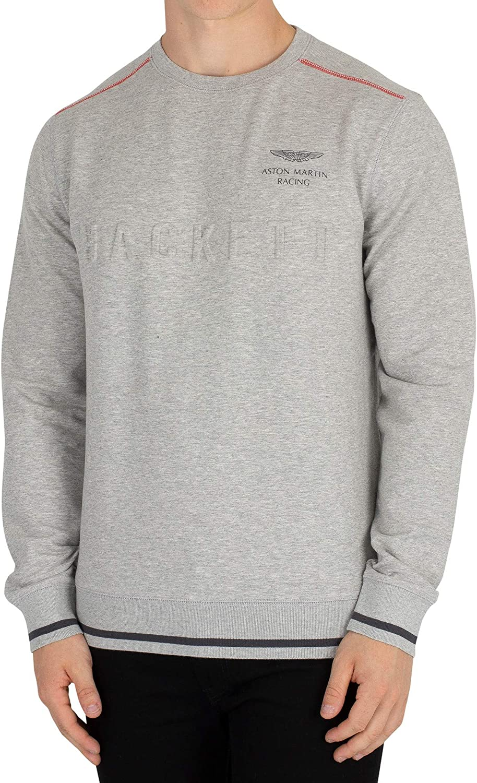 Hackett London Men's Aston Martin Racing Sweatshirt, Grey