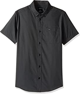 RVCA Men's That'll Do Oxford Short Sleeve Woven Shirt