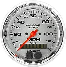 Auto Meter AutoMeter 200637-35 Ultra-Lite Gauge, Speedometer, 3 3/8