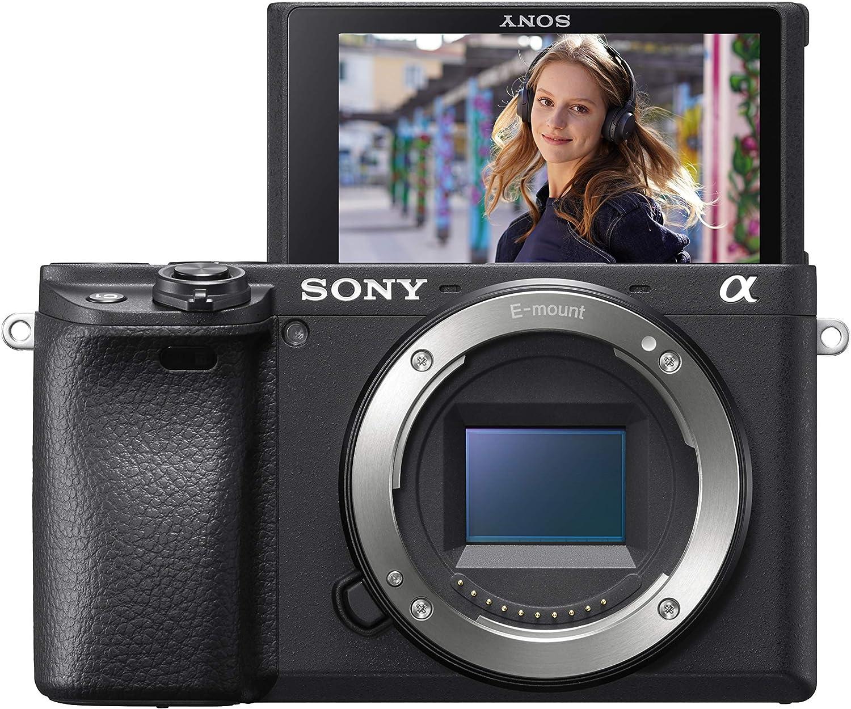Sony Alpha 6400 C/ámara Evil APS-C con Objetivo Zoom Potente Sony 16-50mm f//3.5-5.6 Tarjeta de Memoria SDXC de 128 GB SanDisk Extreme Pro