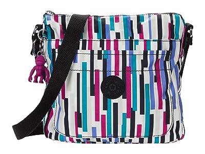 Kipling Sebastian Crossbody Bag (Urban Stripe) Handbags