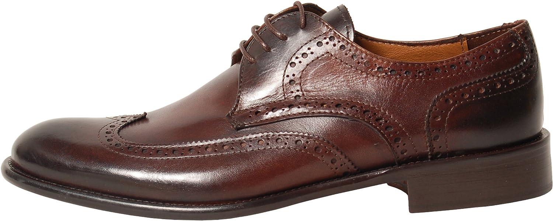 Antica Calzoleria Campana Schuhe Schuhe   Mod. 1405   Brogue   dunkelbraun  100% Passformgarantie
