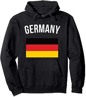 Germany Hoodie German Flag Hooded Sweater Vacation Souvenir