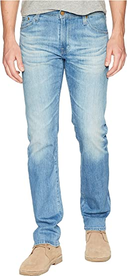 AG Adriano Goldschmied Matchbox Slim Straight Leg Denim in 17 Years Morro Bay