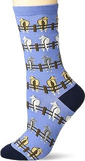 K. Bell Women's Playful Wildlife Novelty Fashion Crew Socks