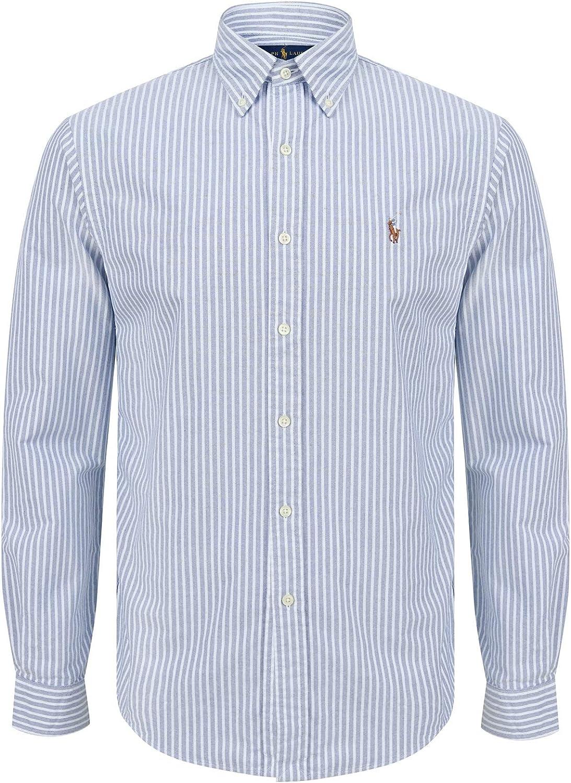 Ralph Lauren - Polo para hombre, diseño de rayas azules ...