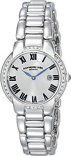 Raymond Weil - Jasmine Stainless Steel & Diamond Womens Luxury Watch Calendar 5229-STS-01659