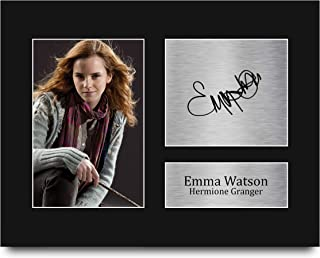 HWC Trading Emma Watson Gift Signed US Letter Size Printed Autograph Hermione Granger Harry Potter Gifts Print Photo Pictu...