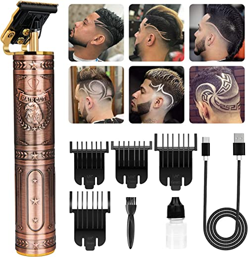 Zero Balde Hair Trimmer Pro T Outline Clippers T Blade Trimmer Cordless...