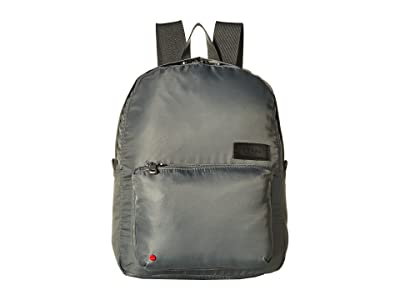 STATE Bags Nylon Mini Lorimer Backpack (Steel Gray) Backpack Bags