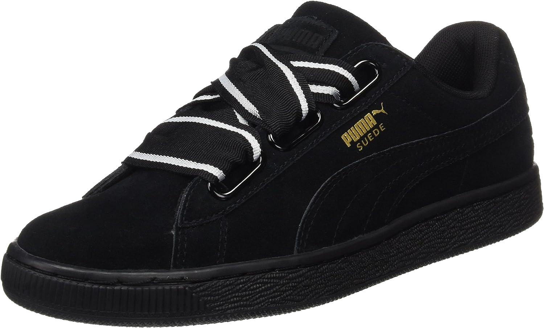 PUMA Suede Heart Satin II 364084-01, Sneakers Basses Femme