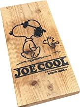 SNOOPY スヌーピー Vintage Wood Board(JOE COOL) (ブラウン)