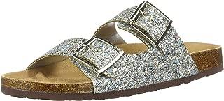 Women's Sparkle Glitter Slip On Casual Sandals