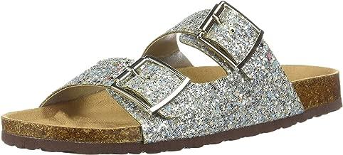 Forever Women's Sparkle Glitter Slip On Casual Sandals