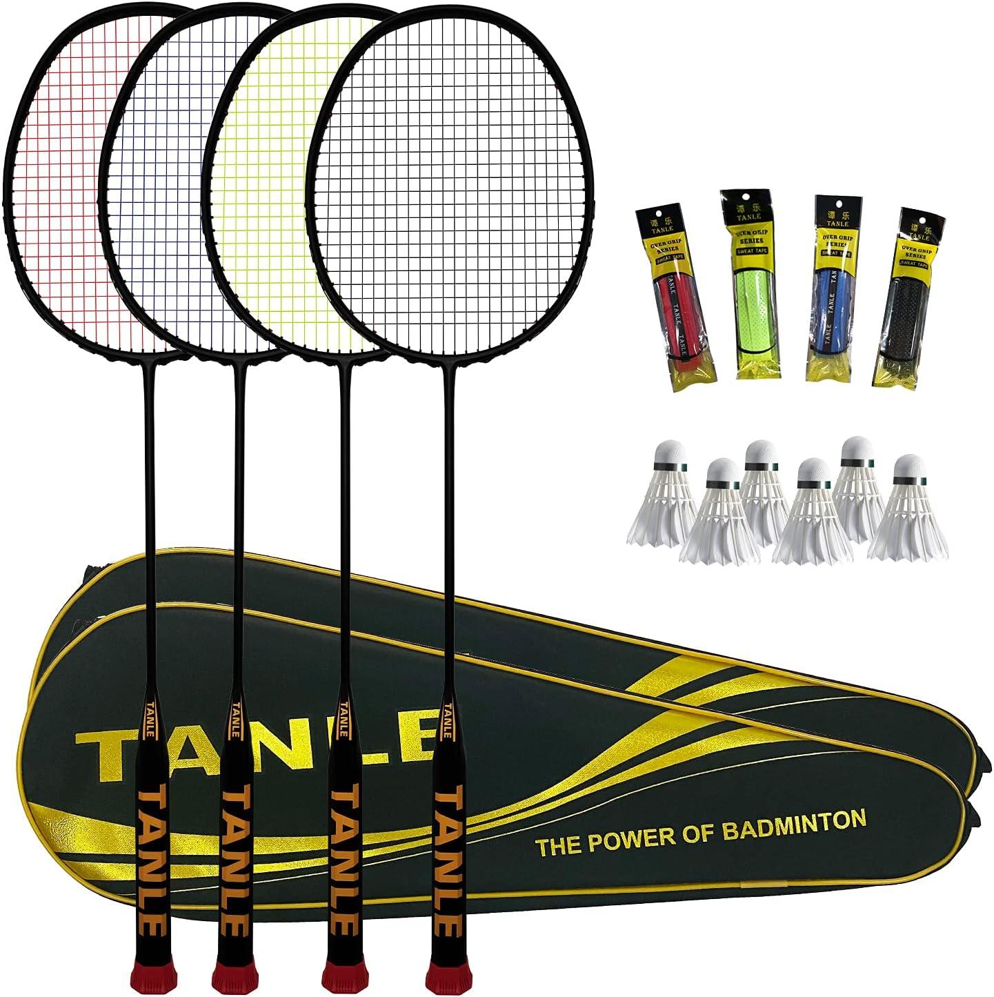 N\\A 10U 52g New life Badminton Ultra-Light 4 Pack Direct sale of manufacturer Racket Rack