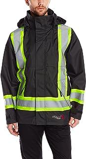 Viking Professional Journeyman FR Waterproof Flame Resistant Jacket, Black, XL