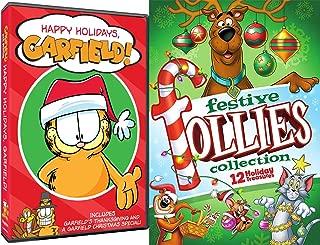 Happy Tooned Holidays Scooby-Doo Garfield Thanksgiving & Festive Follies Trio of Fun Tom & Jerry / Yogi Bear All Stars Animated Cartoons Christmas Specials Set