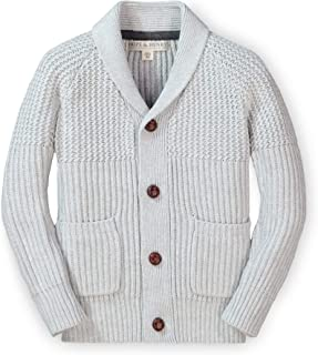 Boys' Shawl Collar Sweater Cardigan