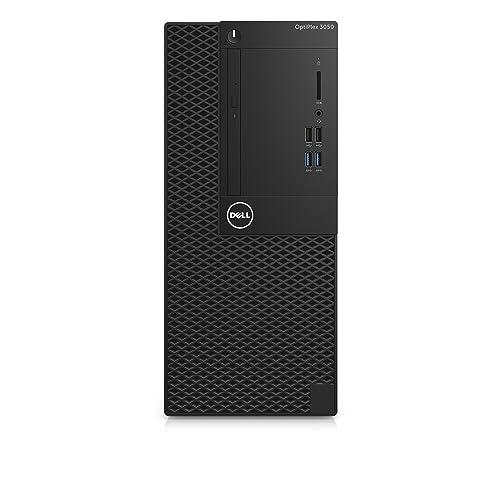 DELL OptiPlex 3050 3.4GHz i5-7500 Mini Tower Negro PC - Ordenador de sobremesa (3,4 GHz, 7ª generación de procesadores Intel Core i5, 8 GB, 256 GB, DVD±RW, Windows 10 Pro)
