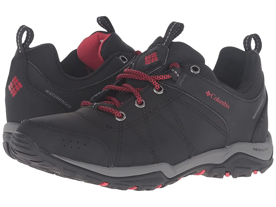 Columbia Fire Venture Waterproof (Black/Burnt Henna) Women