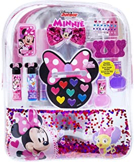 Townley Girl Disney Minnie Mouse Backpack Cosmetic Set (White)