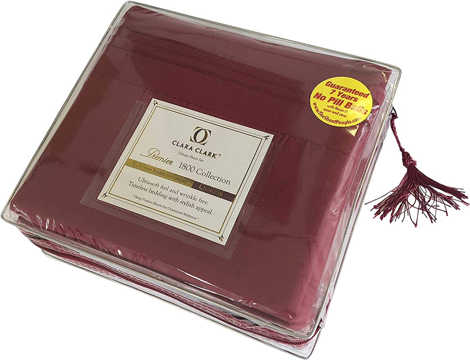 Queen Size Sheets 予約 新発売 1800 Thread Count Cotton Poly 40% Egyptian 60%