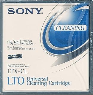 SONY Bande de nettoyage pour lecteur LTO / De 15 à 50 nettoyages suivant lecteur