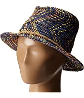 Appaman Kids - Cacey Straw Fedora with Briaded Rope Detail (Infant/Toddler/Little Kids/Big Kids)