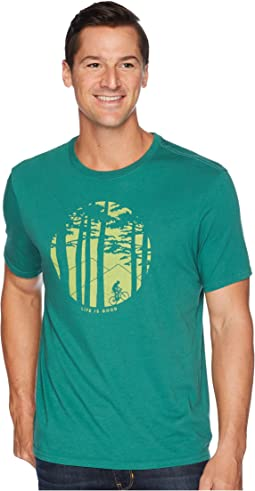 Mountain Bike Woods Smooth T-Shirt