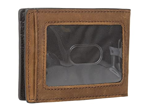 amp; Money M amp; Marrón Clip F Western Bifold RXqw45Pw