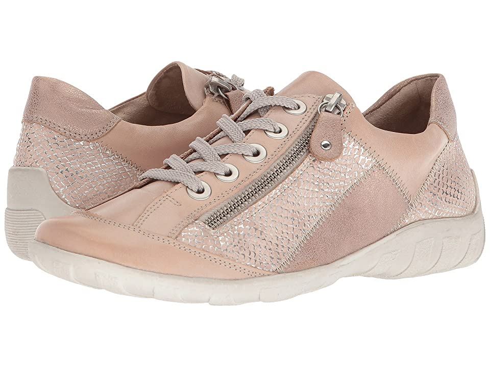 Rieker R3419 Liv 19 (White/Nude/Light Rose/Silver) Women