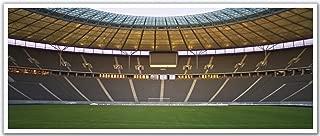 JP London PAN5302 uStrip Soccer Field Stadium Background High Resolution Peel Stick Removable Wallpaper Sticker Mural, 48