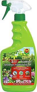 COMPO Triathlon Universal Insekten-frei AF, Bekämpfung von Schädlingen an Zier- und Zimmerpflanzen, Anwendungsfertig, 750 ml