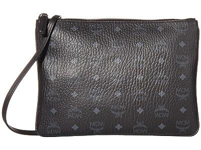 MCM Visetos Original Pouch Medium (Black) Bags