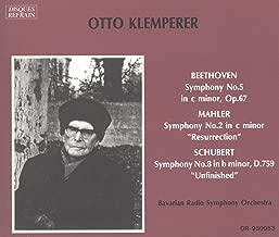 Beethoven: Symphony No. 5 in c minor, Op. 67 / Mahler: Symphony No. 2 in c minor