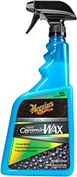 Meguiar's G190532SP Hybrid Ceramic Wax - The Car Enthusiast's Car Wax, 32 Fluid Ounces: image