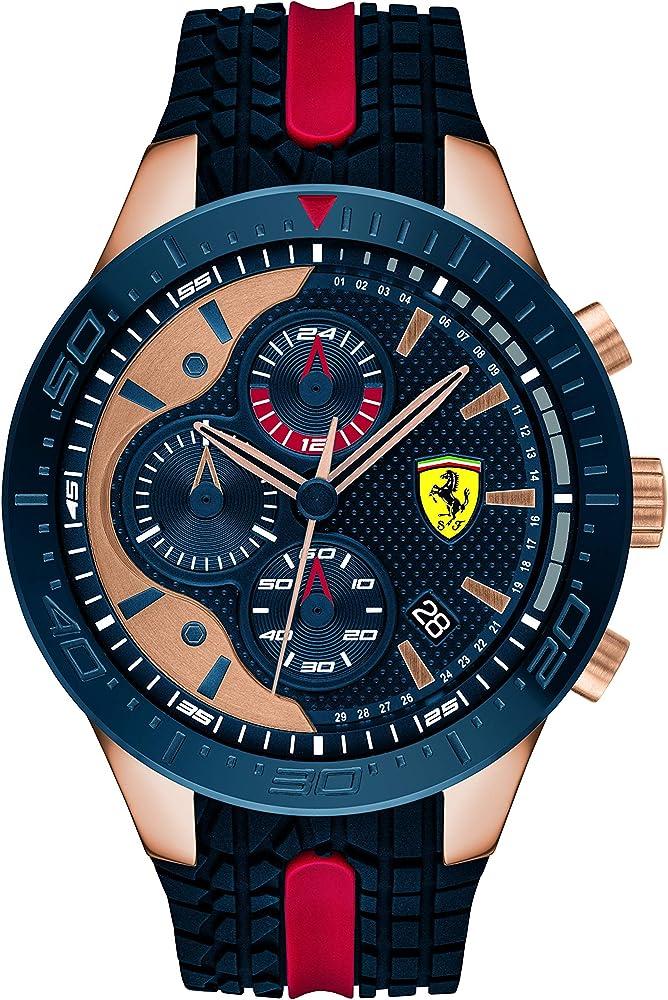 Scuderia ferrari orologio cronografo uomo 830591