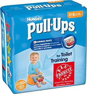 Huggies Pull Ups Potty Training Pants for Boys, Small - 29 Pants Total
