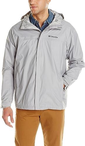 Columbia Hommes's Big & Tall Watertight II Packable Rain veste,Columbia gris,2X
