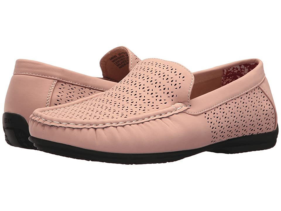 Stacy Adams Cicero Casual Slip On Loafer (Misty Rose) Men